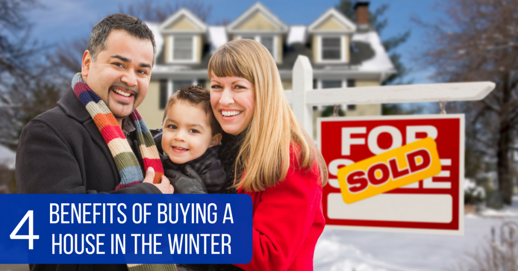 4 Benefits of Buying a House in the Winter