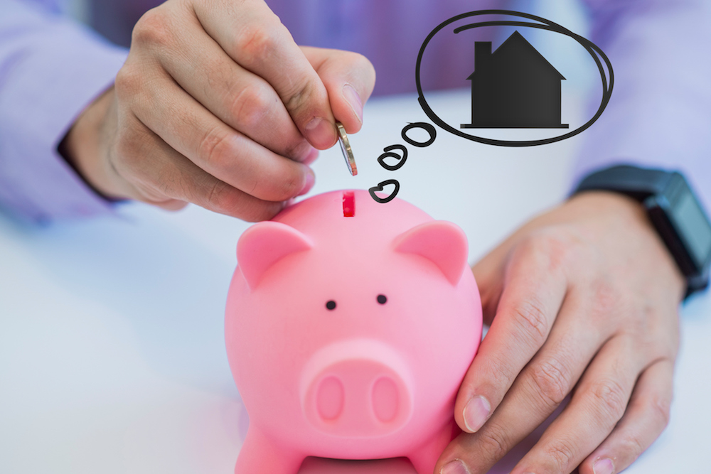 how to put a downpayment on a house
