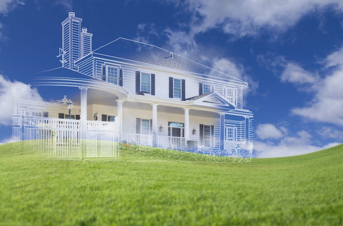 how to build a house without a bank loan